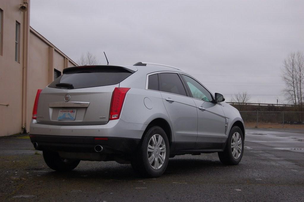 2012 Cadillac SRX Rear