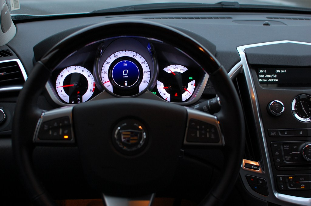 Cadillac SRX Steering Wheel