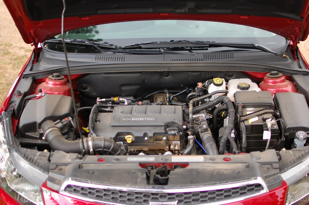 2012 Chevy Cruze 1LT Turbo 1.4L Engine