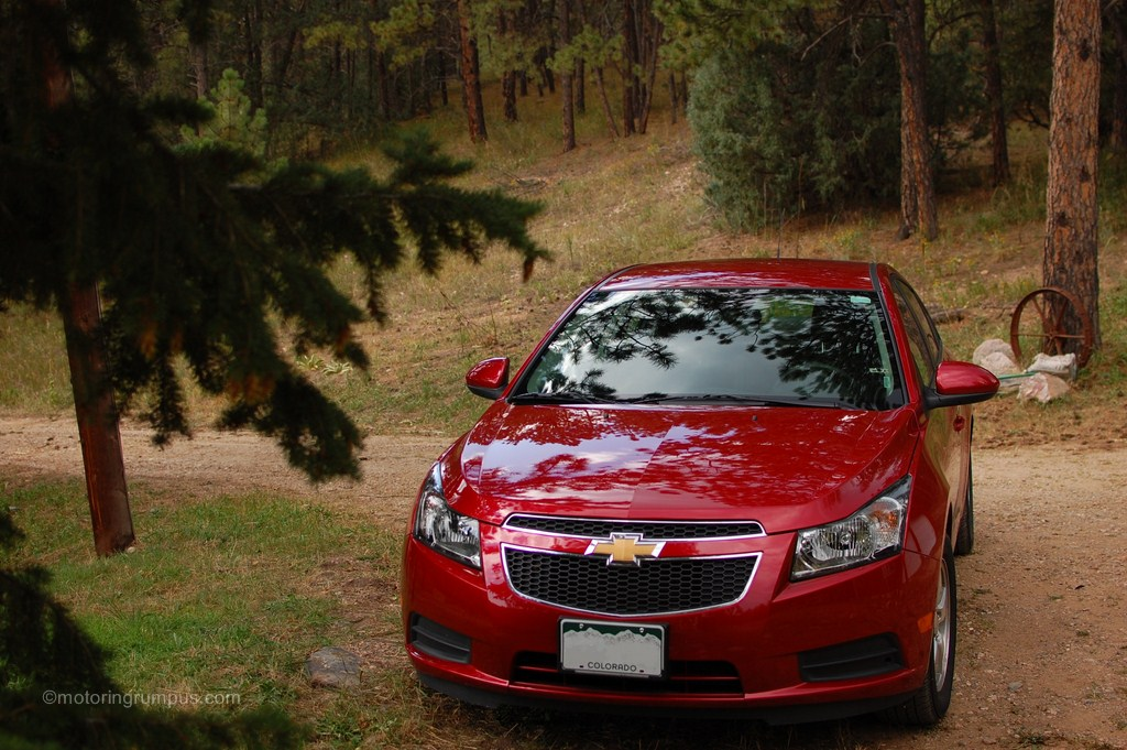 2012 Chevy Cruze LT Front