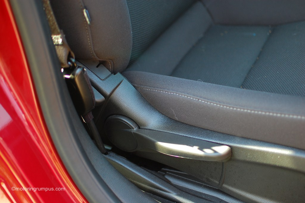 2012 Chevy Cruze Passenger Seat