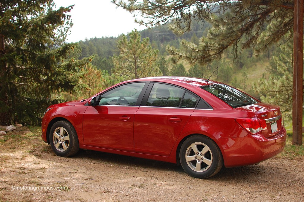 2012 Chevy Cruze Side
