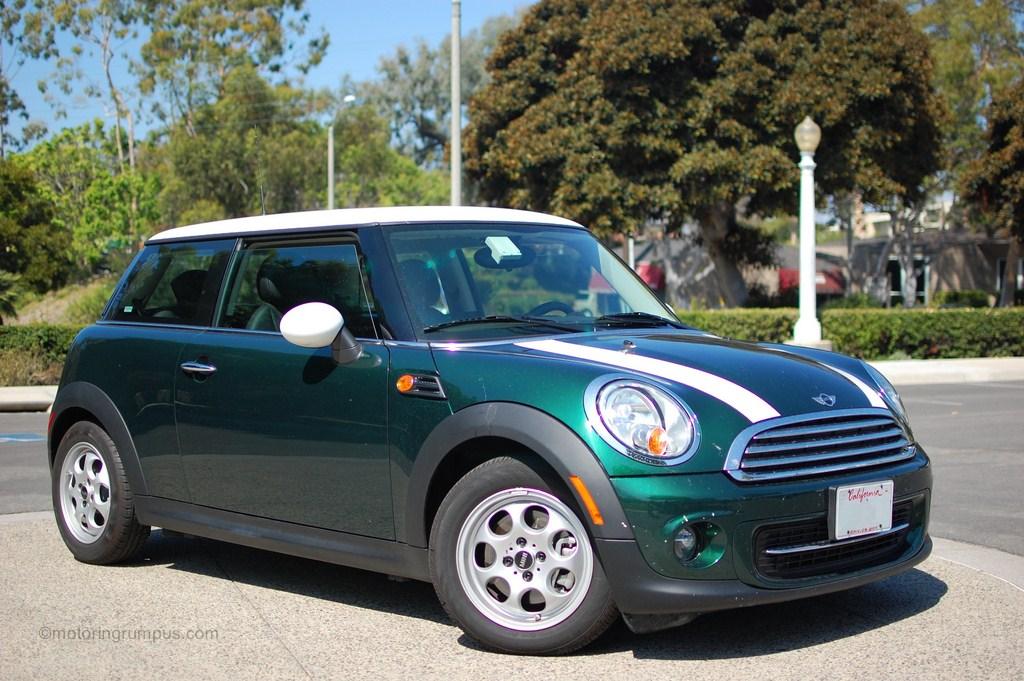 2012 Mini Cooper British Racing Green