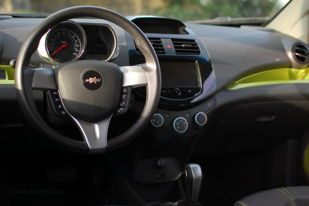 2013 Chevy Spark 1LT Interior