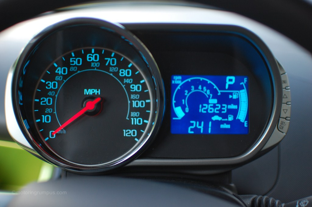 2013 Chevy Spark Instrument Cluster