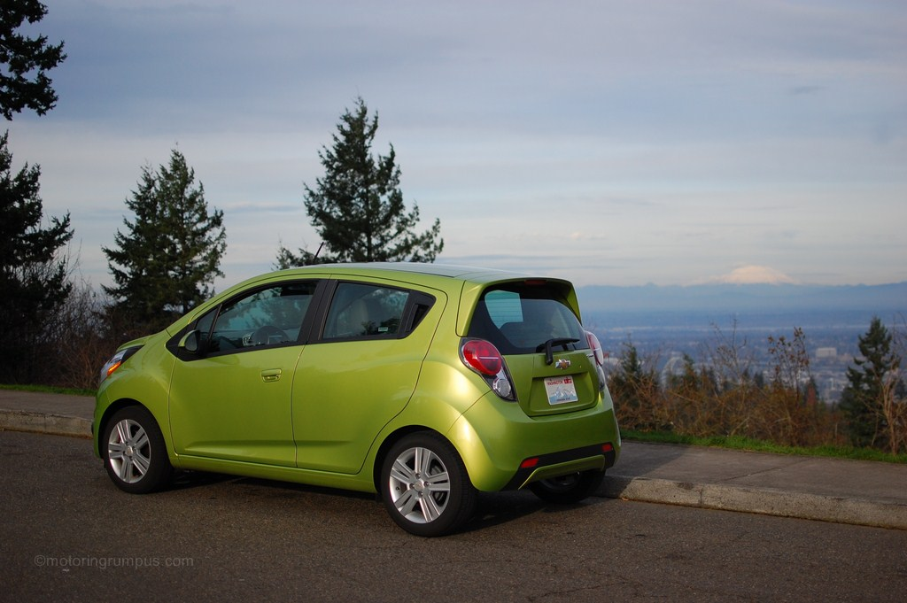 2013 Chevy Spark Review
