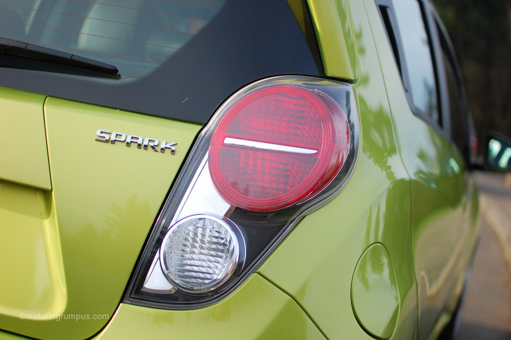 2013 Chevy Spark Tail Light