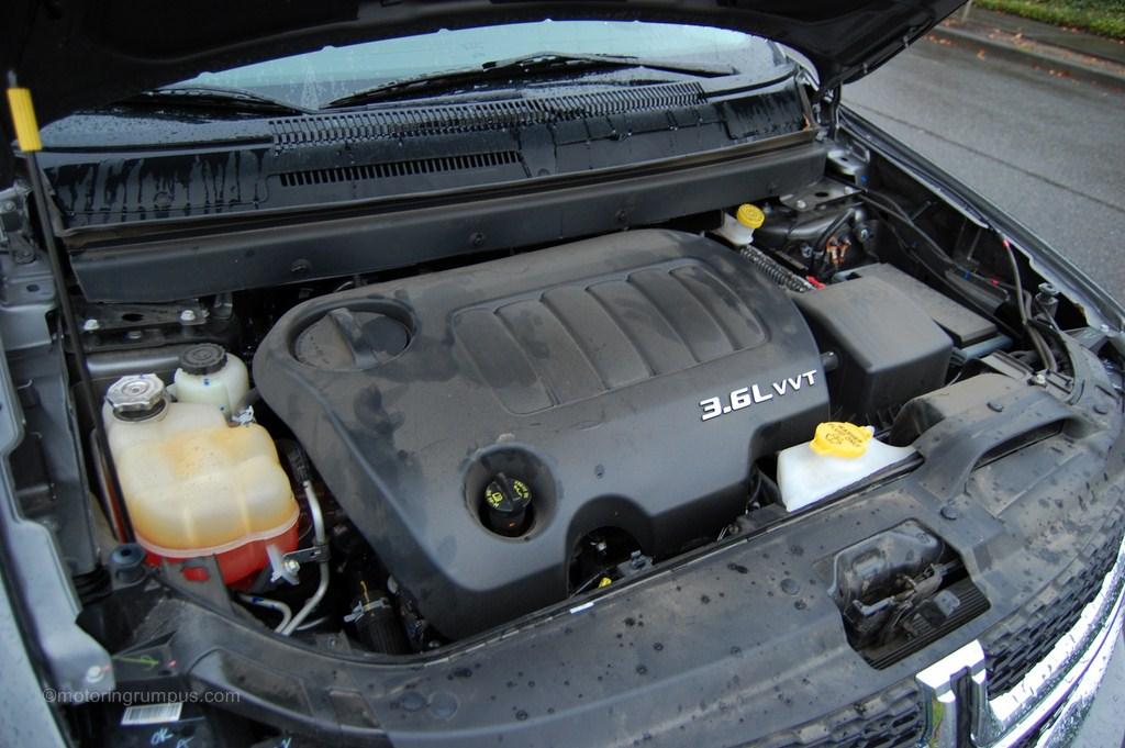 2012 Dodge Journey 3.6L Pentastar V6 Engine