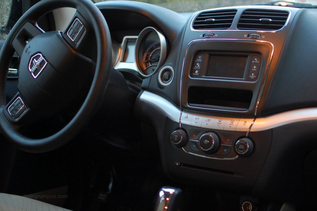 2012 Dodge Journey Interior
