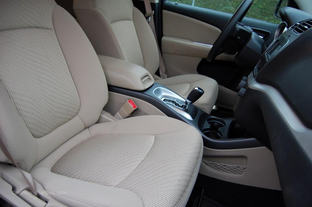 2012 Dodge Journey Light Frost Beige Seats