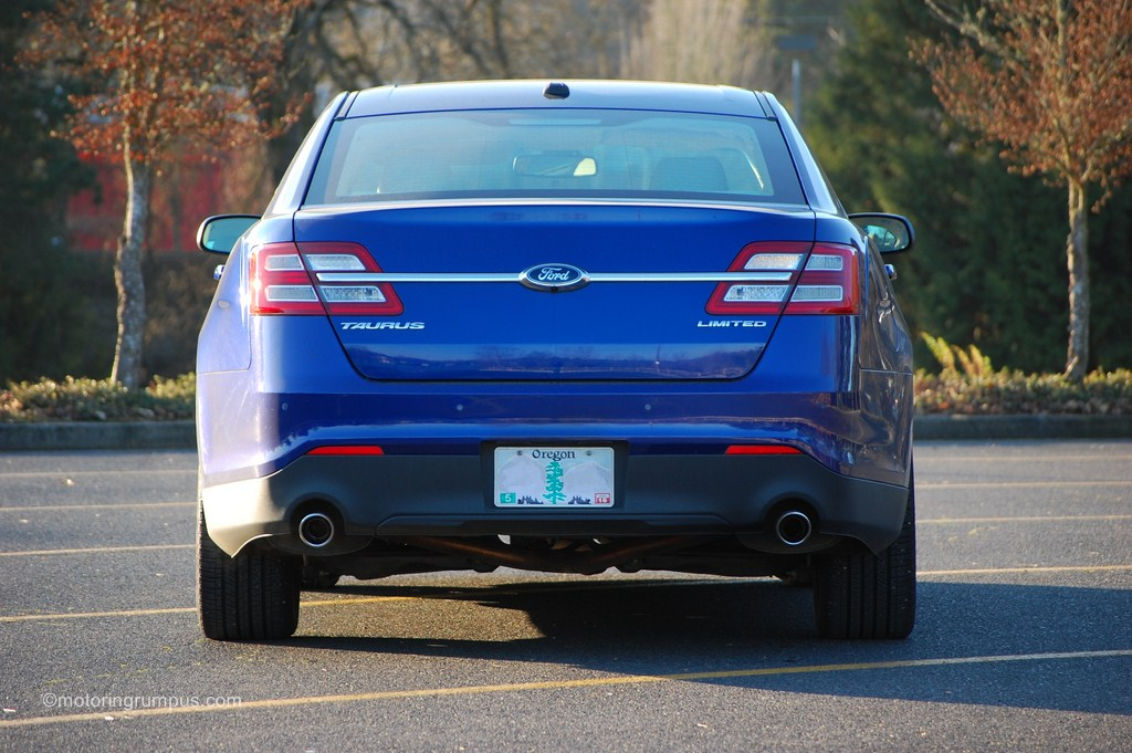 2013 Ford Taurus Limited Rear