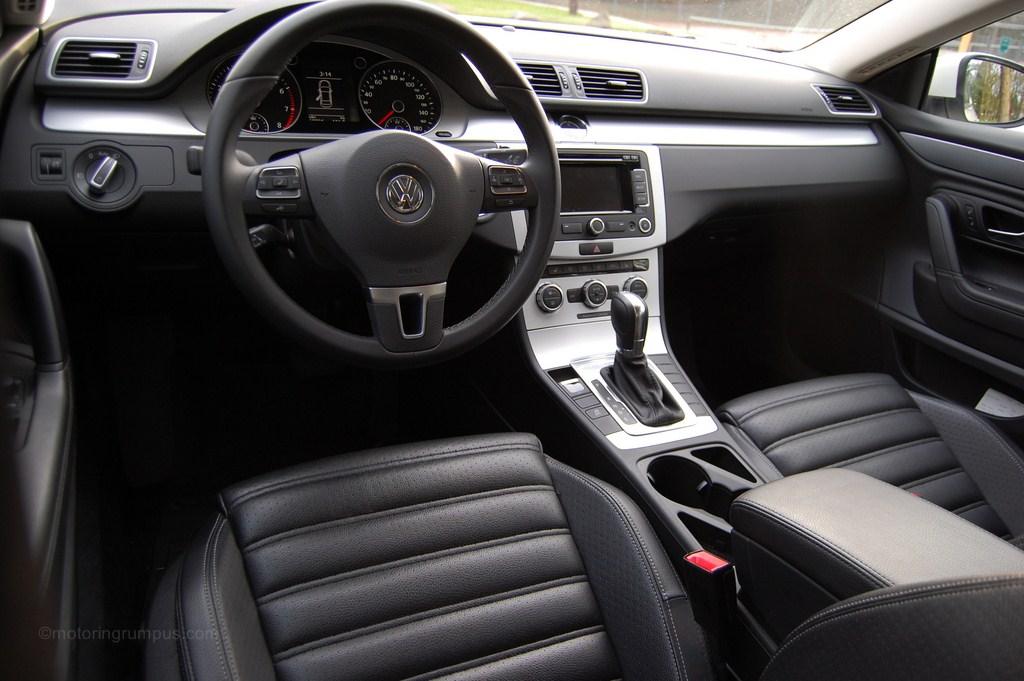 2013 Volkswagen CC Black Leatherette Interior