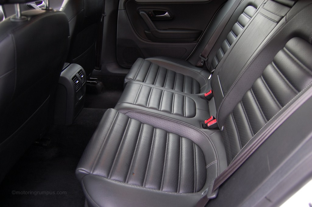 2013 Volkswagen CC Rear Seats