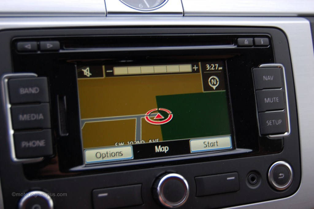 2013 Volkswagen CC RNS-315 Navigation