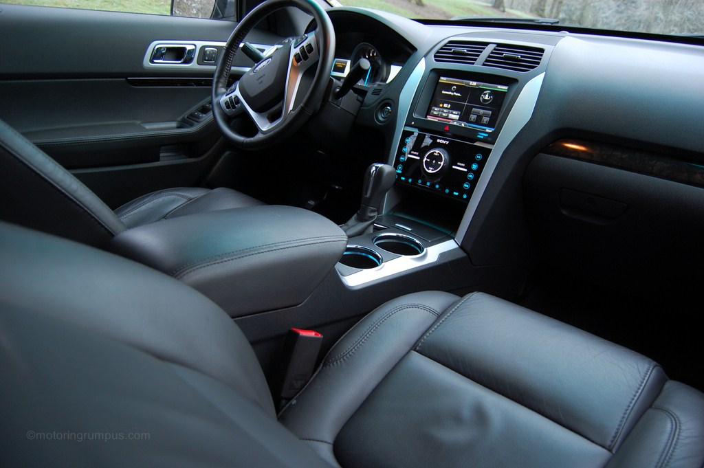 2013 Ford Explorer Limited Charcoal Black Interior