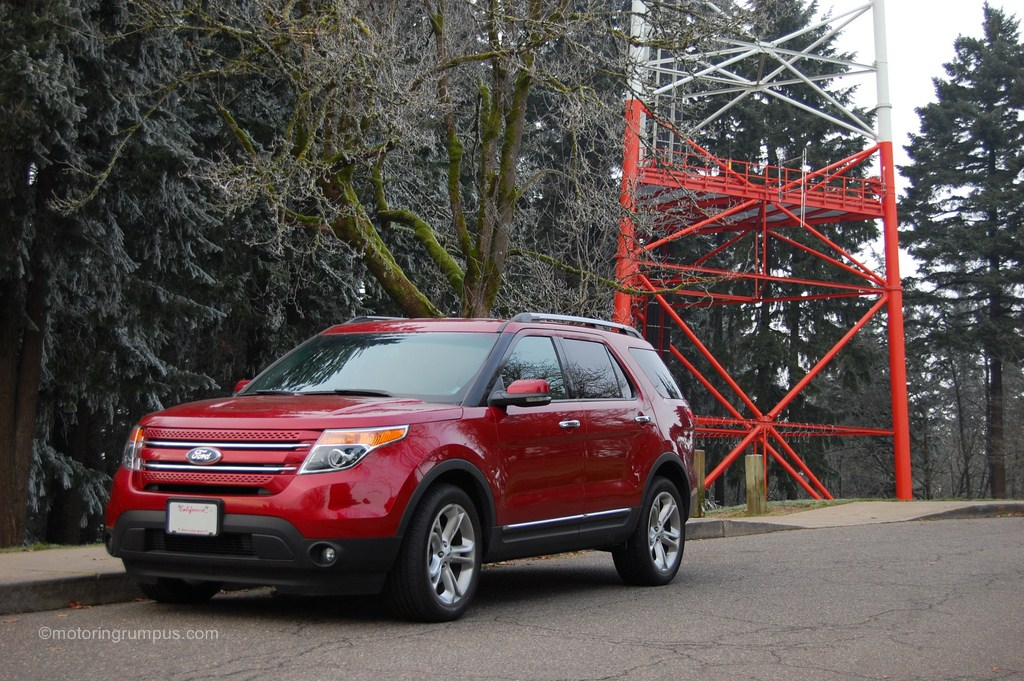 2013 Ford Explorer Limited Ruby Red