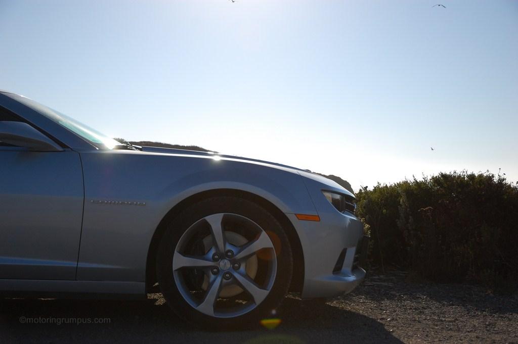 2014 Chevy Camaro Front Quarter