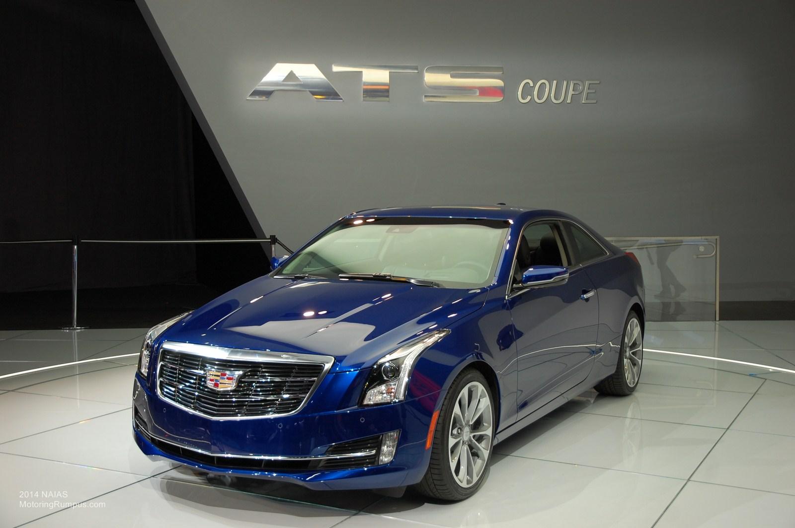 2014 NAIAS Cadillac ATS Coupe
