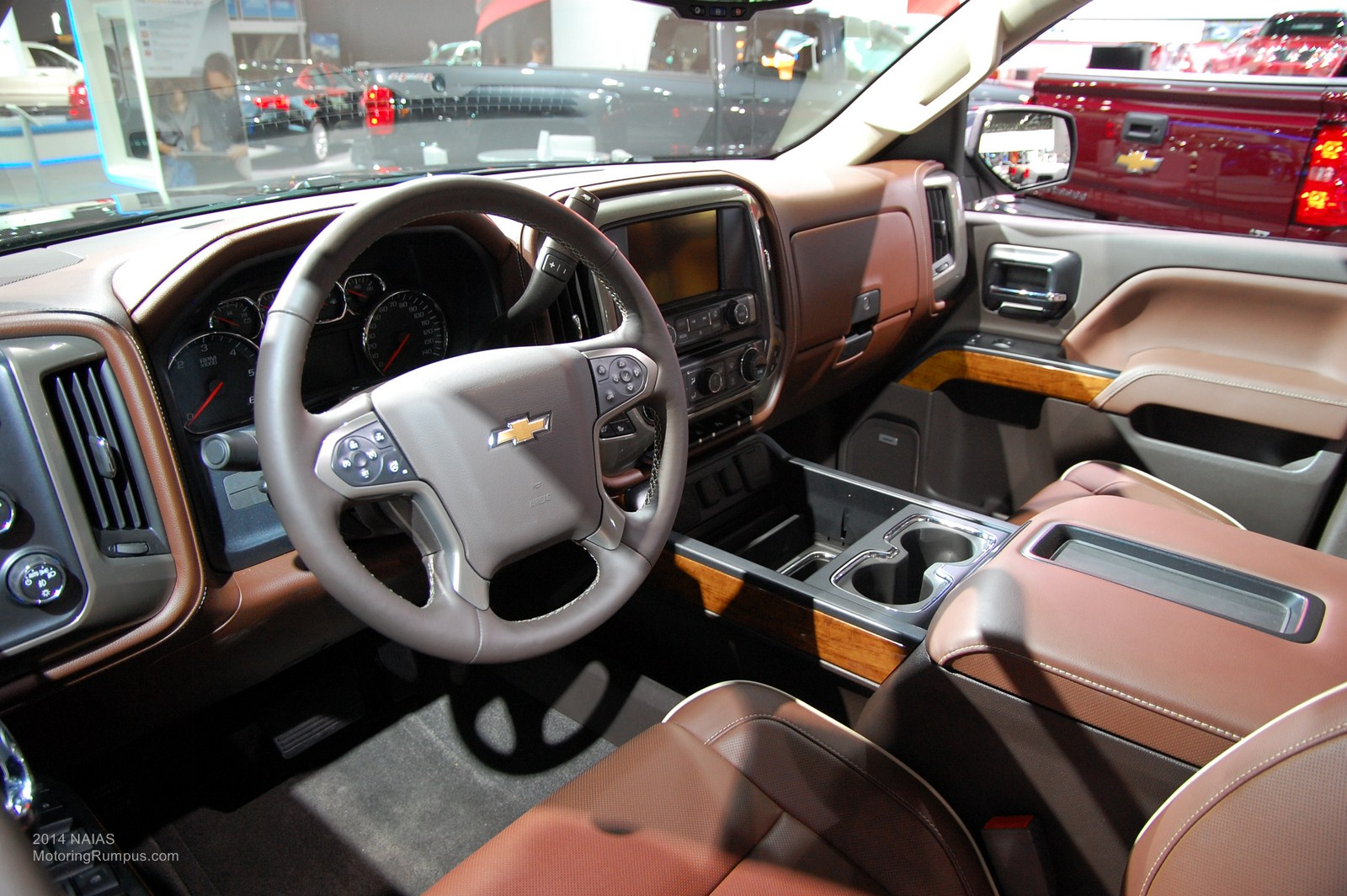 Of The Year Awards 2014 Naias Chevy Silverado High Country Interior Images Frompo