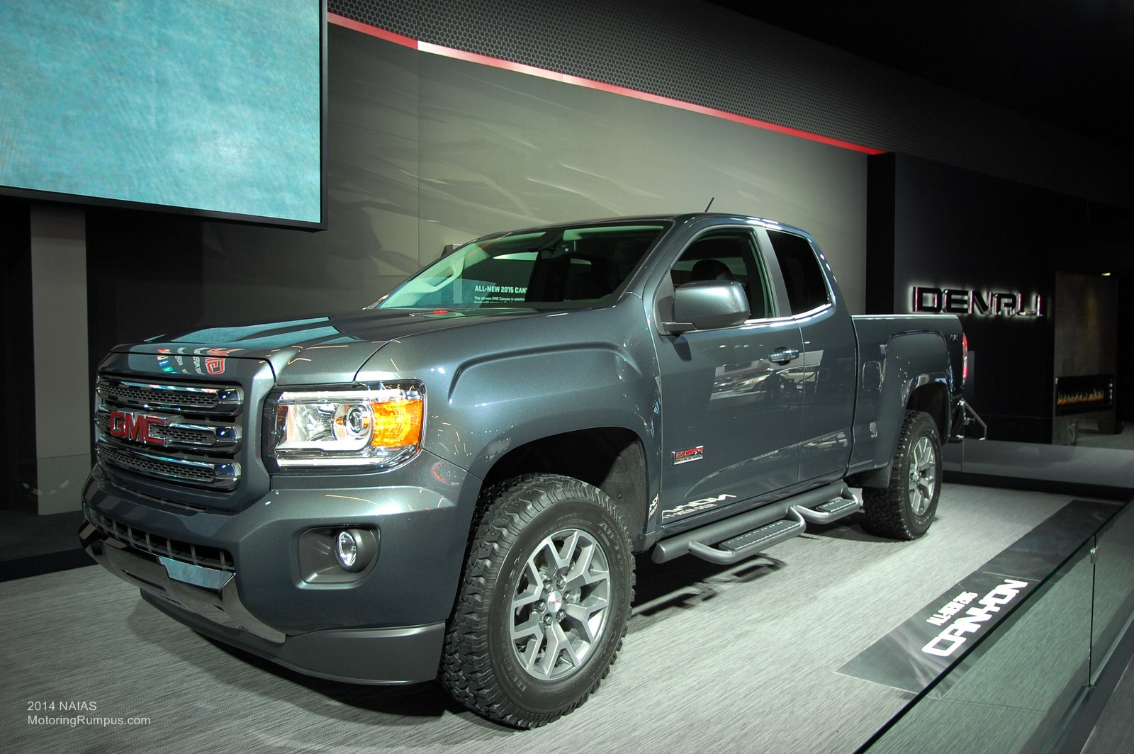 naias 2014 gmc canyon revealed in detroit motoring rumpus. Black Bedroom Furniture Sets. Home Design Ideas