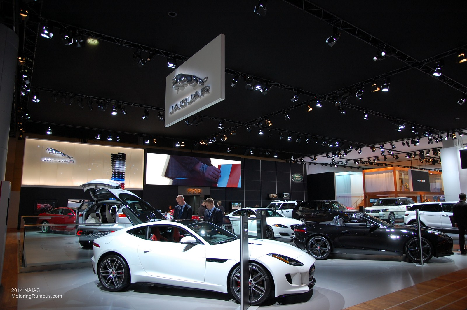 2014 NAIAS Jaguar