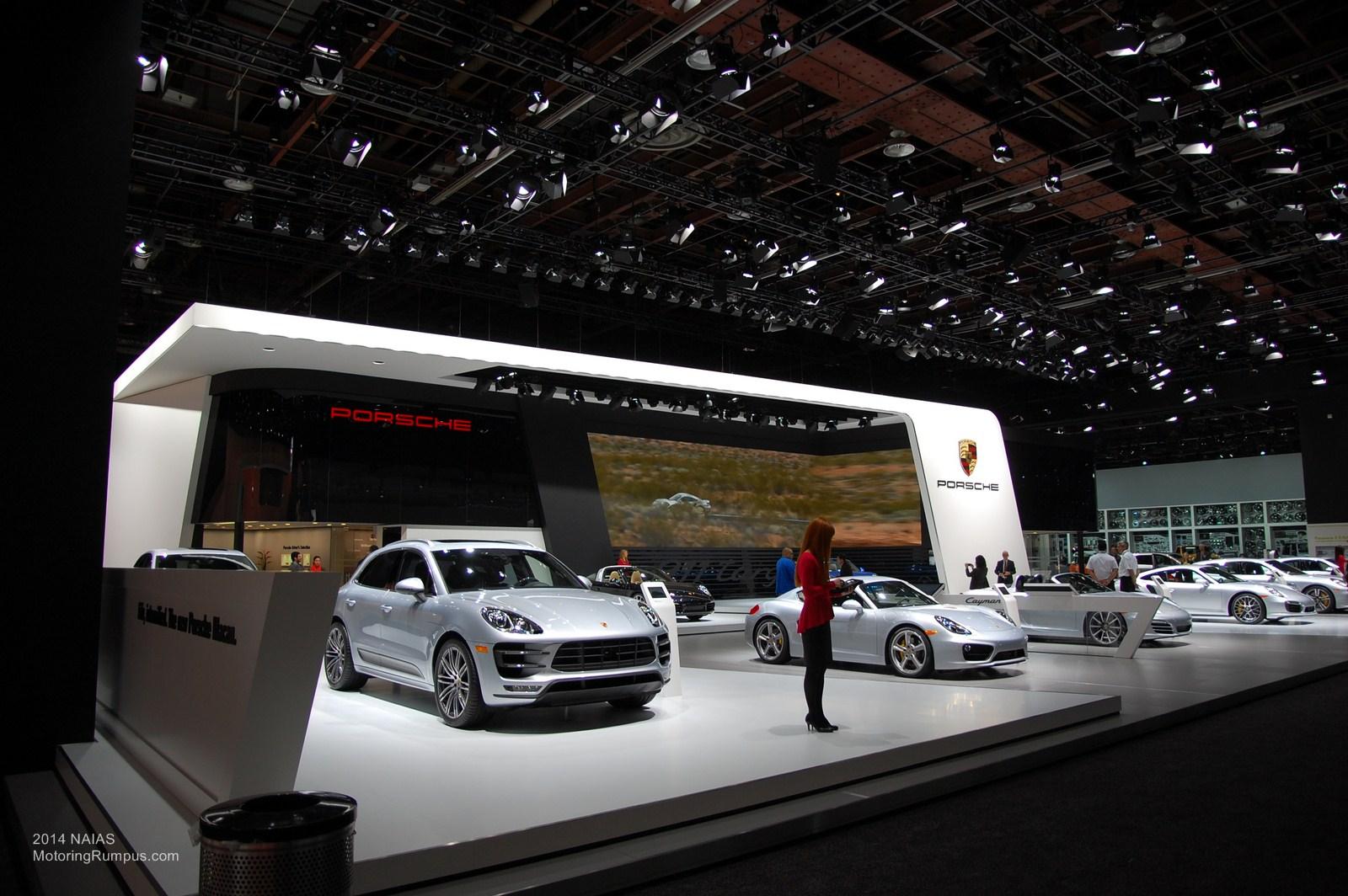 2014 NAIAS Porsche