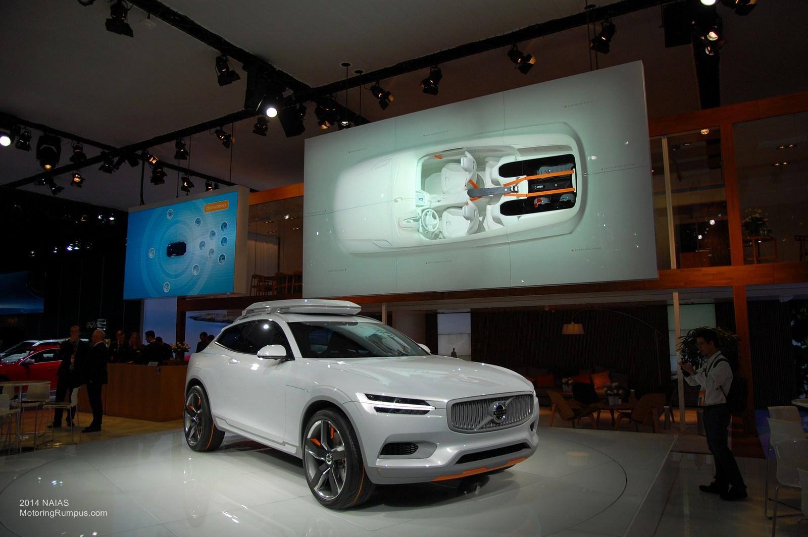 2014 NAIAS Volvo XC Concept Coupé