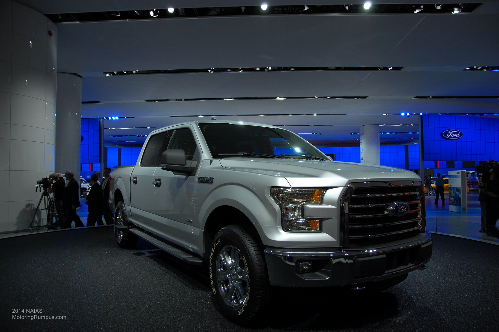 2014 NAIAS - 2015 Ford F-150