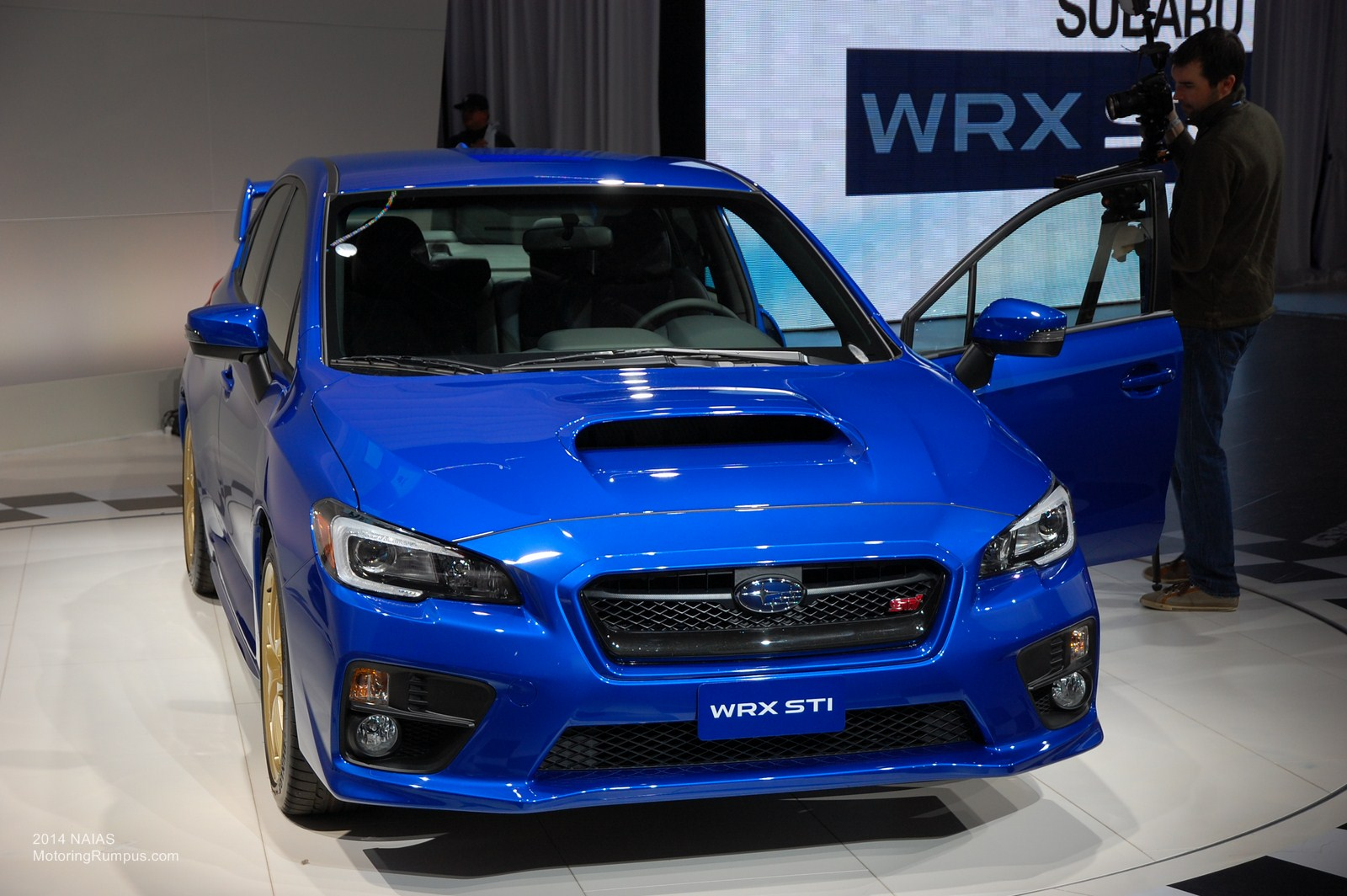naias 2014 subaru introduces 2015 wrx sti motoring rumpus. Black Bedroom Furniture Sets. Home Design Ideas