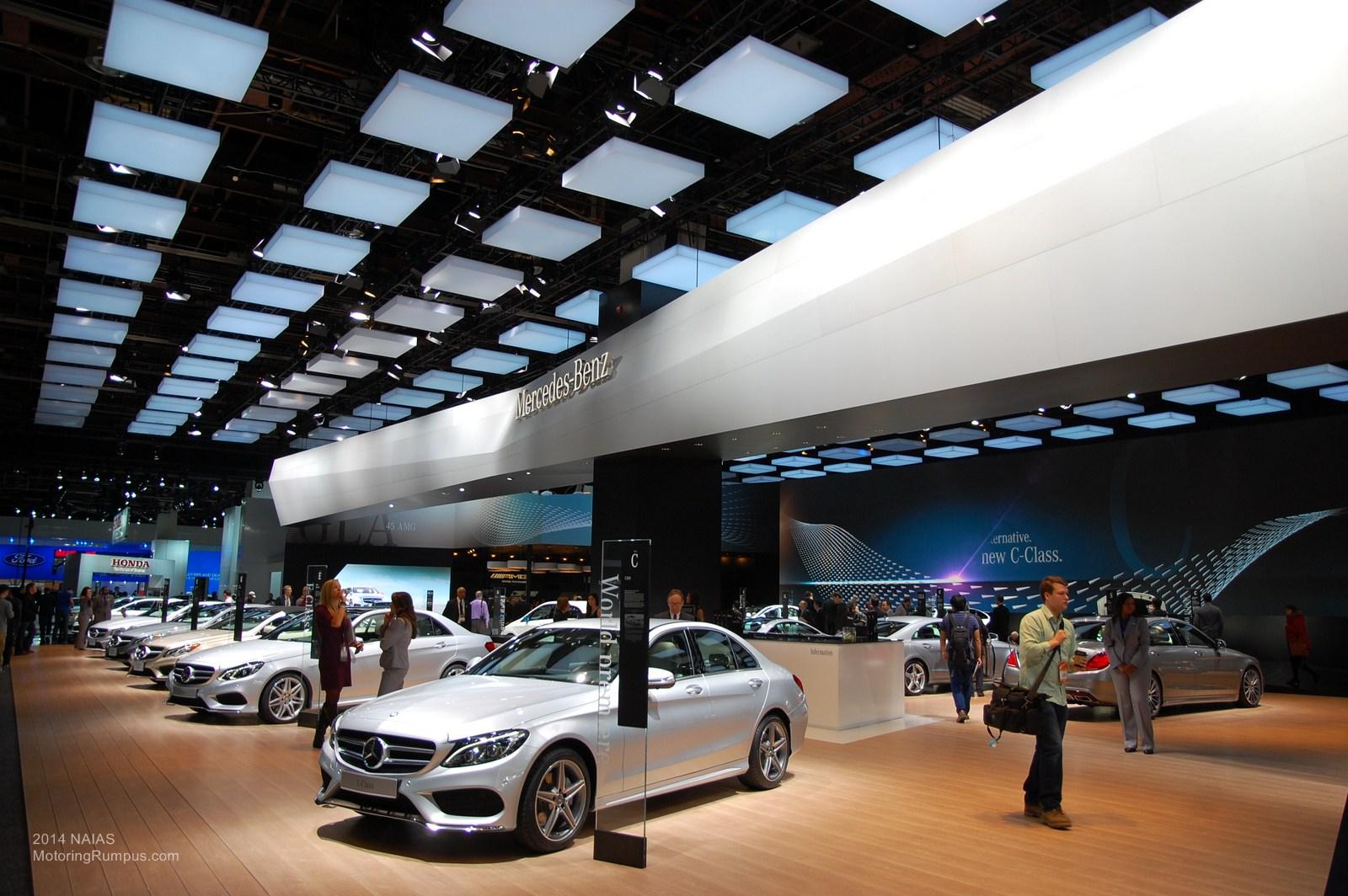 2014 NAIAS Mercedes-Benz