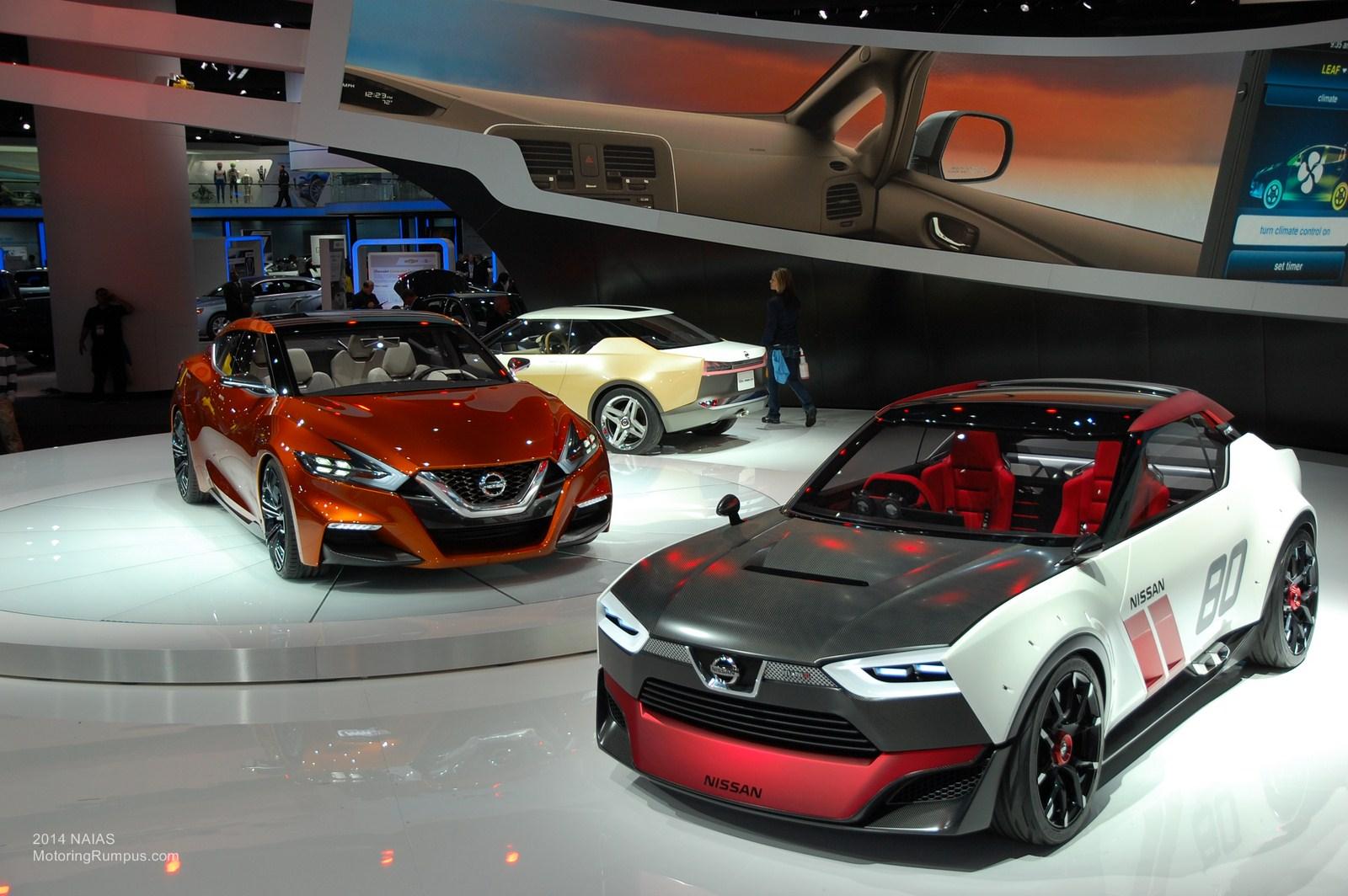 2014 NAIAS Nissan Concepts