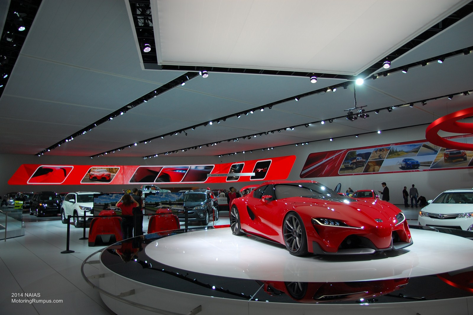 2014 NAIAS Toyota FT-1 Concept